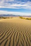 Dune di Death Valley Immagini Stock