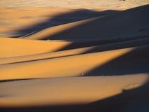 Dune di ERG Chebbi nel Marocco Immagini Stock Libere da Diritti
