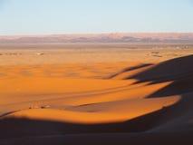 Dune di ERG Chebbi nel Marocco Fotografie Stock