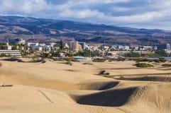Dune di Maspalomas in Gran Canaria Immagine Stock