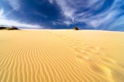 Dune di sabbia al Ne di mui, Vietnam Fotografia Stock