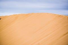 Dune di sabbia bianche Immagini Stock Libere da Diritti