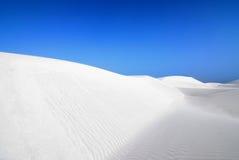 Sabbia bianca Fotografia Stock