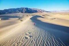 Dune di sabbia in California immagini stock
