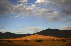 Dune di sabbia del Death Valley Fotografia Stock Libera da Diritti
