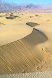 Dune di sabbia del Death Valley immagini stock