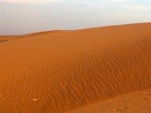 Dune di sabbia del deserto Immagine Stock