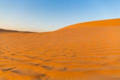 Dune di sabbia del deserto Fotografie Stock