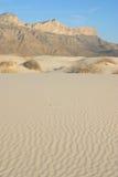 Dune di sabbia del gesso Fotografie Stock