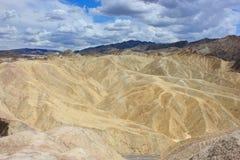 Dune di sabbia della valle della morte fotografia stock
