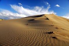 Dune di sabbia di Bruneau Immagini Stock