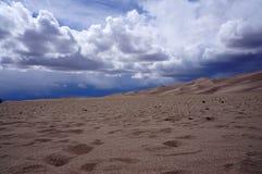 Dune di sabbia di Colorado Immagine Stock