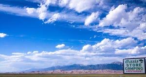 Dune di sabbia di Colorado Immagini Stock