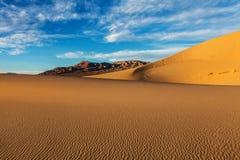 Dune di sabbia di Eureka Immagini Stock