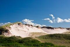 Dune di sabbia di Greenwich Immagini Stock