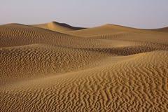 Dune di sabbia di rotolamento Fotografia Stock