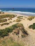 Dune di sabbia e della spiaggia Immagini Stock Libere da Diritti