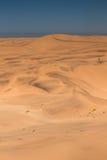 Dune di sabbia enormi vicino a Swakopmund Fotografia Stock Libera da Diritti