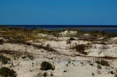 Dune di sabbia litoranee Fotografia Stock Libera da Diritti