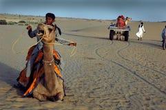 Dune di sabbia nel Ragiastan Immagine Stock Libera da Diritti