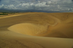Dune di sabbia nel Venezuela Fotografia Stock