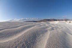 Dune di sabbia nell'isola di Socotra Immagini Stock
