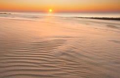 Dune di sabbia. paesaggio del deserto immagine stock libera da diritti