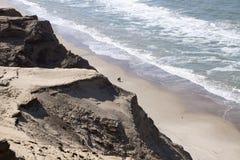 Dune di sabbia di Rubjerg Knude Fotografie Stock