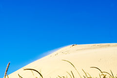 Dune di sabbia di Rubjerg Knude fotografie stock libere da diritti
