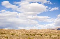 Dune di sabbia in valey di morte Immagine Stock Libera da Diritti