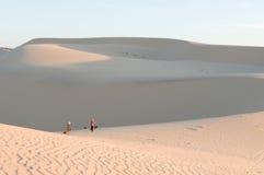 Dune di sabbia, Vietnam Fotografie Stock