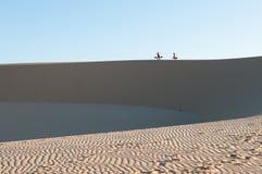 Dune di sabbia, Vietnam Fotografie Stock Libere da Diritti