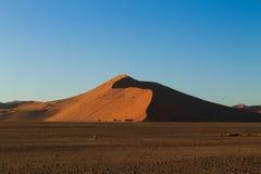 Dune di Sossusvlei fotografie stock libere da diritti