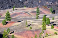 Dune dipinte variopinte Fotografie Stock Libere da Diritti
