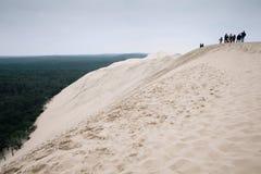 Dune du Pilat stockfotos