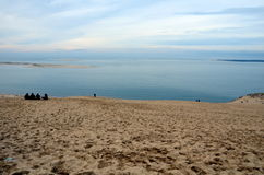 Dune du Pilat Royalty-vrije Stock Foto