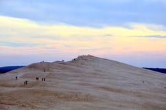Dune du Pilat. In France Royalty Free Stock Images