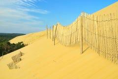 Dune du Pyla. In France, near Bordeaux Royalty Free Stock Photos