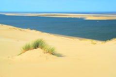 Dune du Pyla. And Atlantic Ocean Stock Photo