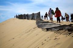 Dune du Pyla Royalty-vrije Stock Afbeeldingen
