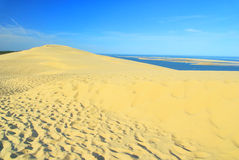 Dune du Pyla Royalty Free Stock Image