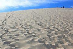 Dune du Pyla, France. Sand dunes of the Dunes de Pilat Stock Image