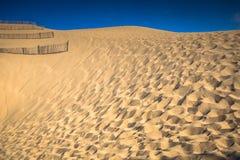 Dune du Pyla - het grootste zandduin in Europa, Aquitaine, Frank Royalty-vrije Stock Fotografie