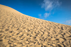 Dune du Pyla - the largest sand dune in Europe, Aquitaine, Franc. E Royalty Free Stock Photography