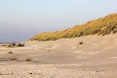 Dune e spiaggia all'isola di Ameland, Olanda Immagine Stock Libera da Diritti