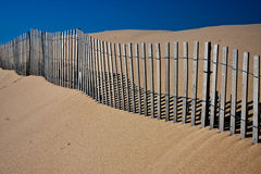 Dune fence Stock Photography