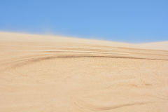 Dune formation Stock Image