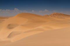 Dune giallo sabbia a Swakopmund Fotografia Stock Libera da Diritti