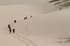 Dune Hike Royalty Free Stock Photos
