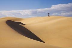 Dune Man Royalty Free Stock Image